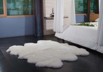 Luxurious Sheepskin Rug