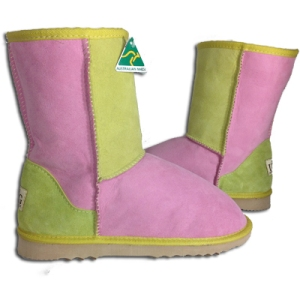 Classic 3/4 Patchwork Ugg