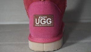 Euram Ugg's innovative heel counter
